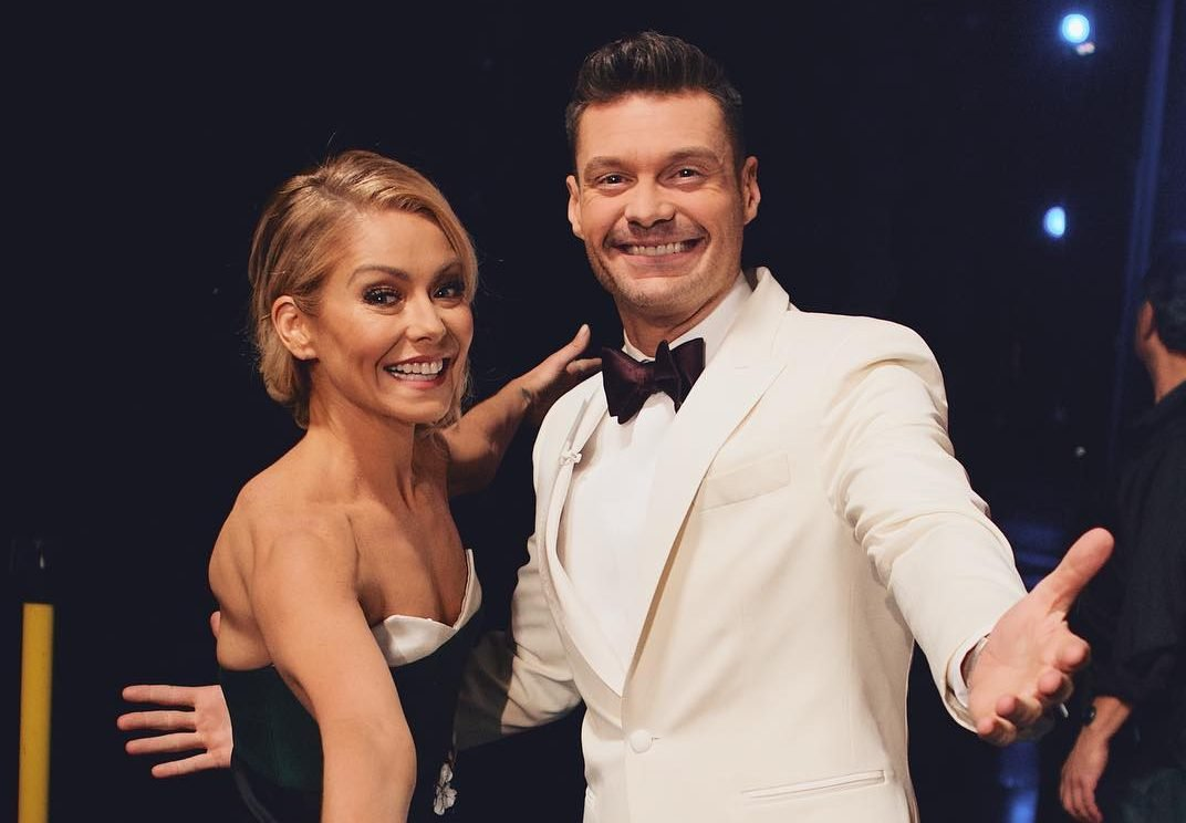 ryan seacrest named kelly ripa's new live with kelly and ryan co-host