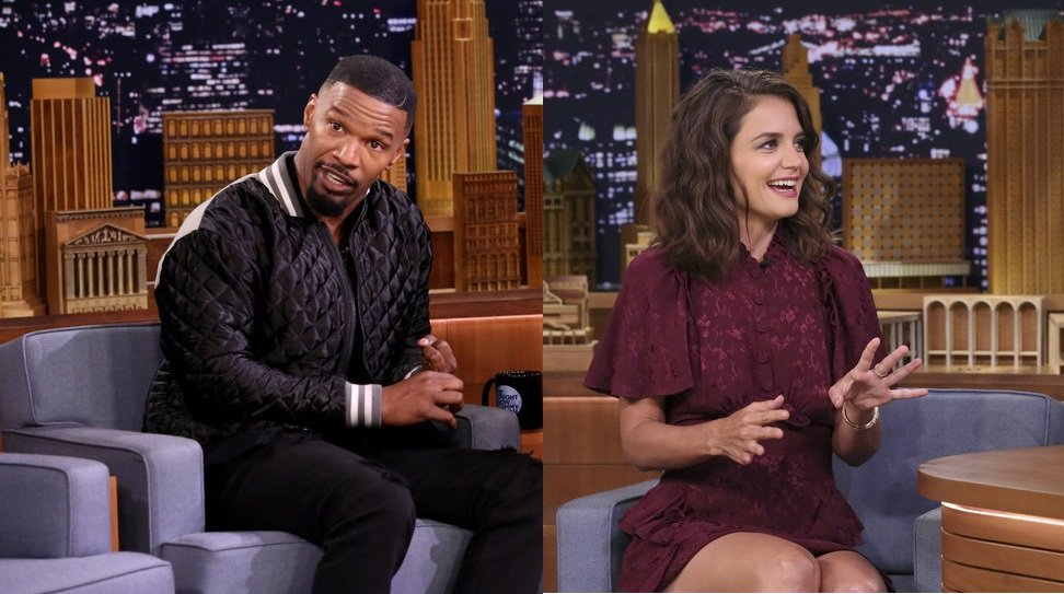 Katie Holmes and Jamie Foxx dating, PDA photos confirm.